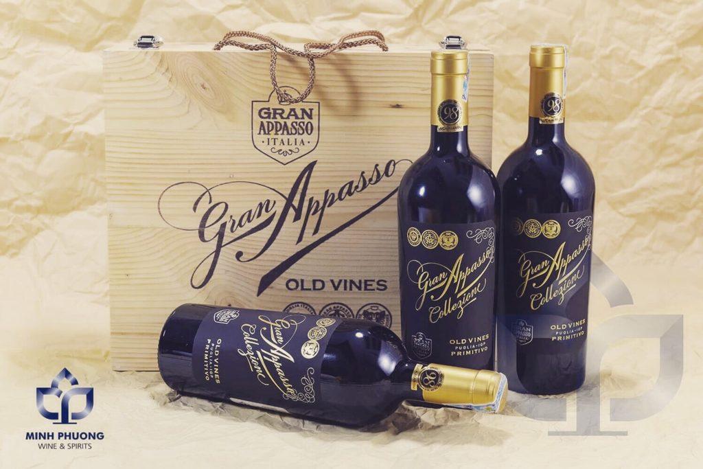 Rượu Vang Ý Gran Appasso Collezione Cao Cấp