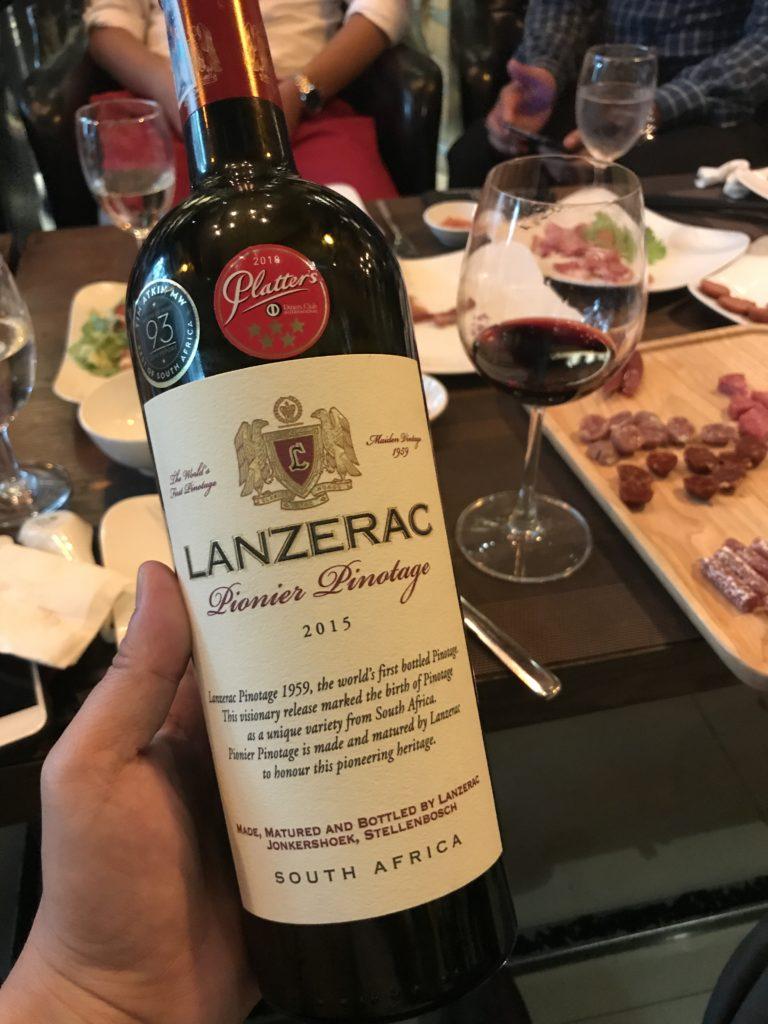 Rượu Vang Nam Phi Lanzerac Pionier Pinotage