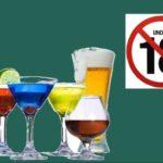 Người đủ 18 tuổi mới được uống và mua rượu vang
