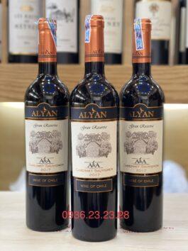 Rượu Vang Alyan Gran Reserva