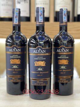 Rượu Vang Alyan Ambassador