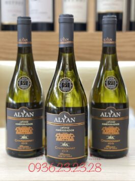 Rượu vang Alyan Ambassador Chardonnay