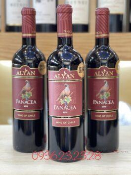 Rượu vang Chile Alyan Panacea